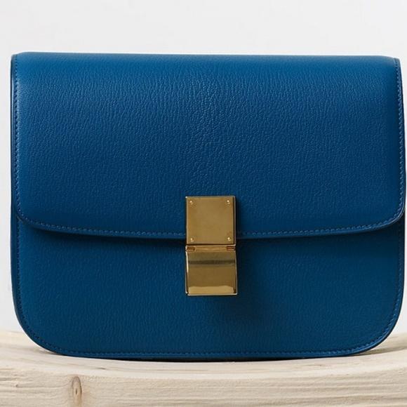 Celine Handbags - Celine medium box bag